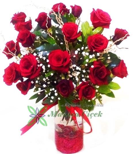 21 Gül Aranjman Manisa Çiçekçi